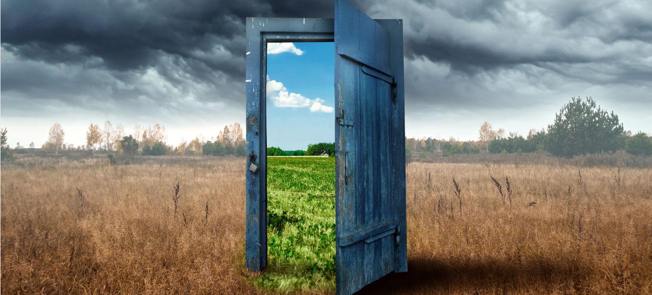 Die Tür zum Leben steht dir offen, doch hindurchgehen musst du selbst