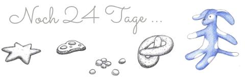 Illustration von Inge Reulecke – Mit Lina und Leo durch den Advent