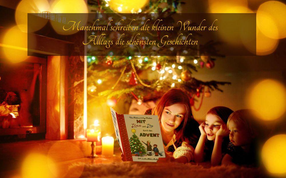 Mit Lina und Leo durch den Advent – 24 vorweihnachtliche Abenteuer