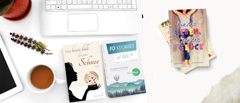 Nachdenk-Geschichten und Unterhaltungsromane von Tara Riedman