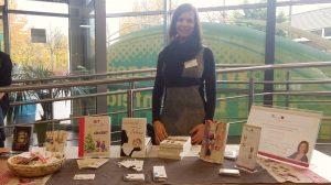 Winterliches Lesefeeling & Sicherheitstipps auf dem SGL-Kreativmarkt mit Autorin & Video-Bloggerin Tara Riedman